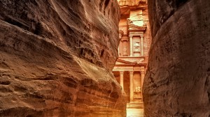 petra from arava border